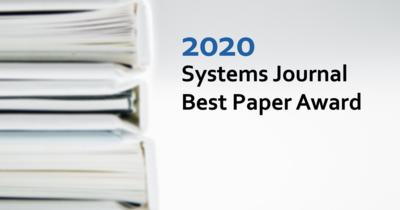 2020 Systems Journal Best Paper Award Recipients