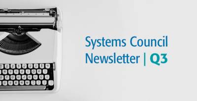Systems Council Newsletter q3
