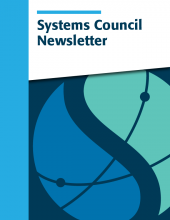 Systems Council Newsletter cover